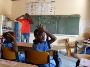 Schule in Gambia